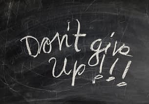 Perseverance brings reward