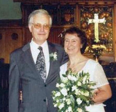 Christine and Godfrey