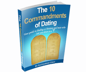 Christian Dating Resources The 10 Commandents Sign up