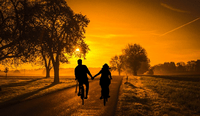 Anglican Dating riding into the sunset