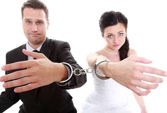 Unhappy and failed Marriages