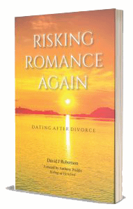 Risking Romance Again 3D book image with shadow